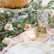 Decorating A Unique Blush Table And Current Crushes