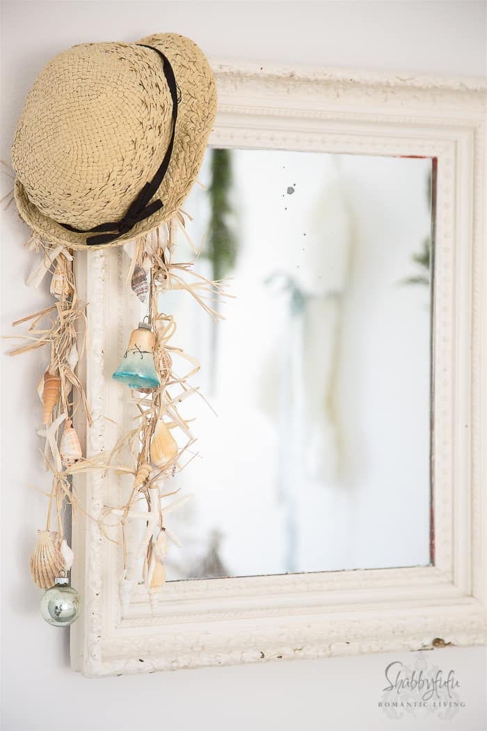 Elegant French Style Christmas Decorating at the Beach House
