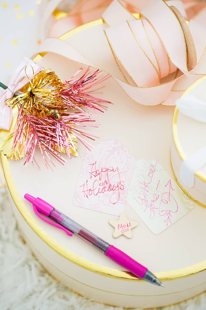 How To Make Your Own Pretty Gift Tags