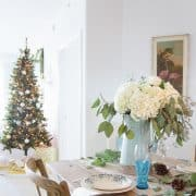 Elegant Vintage Christmas Entertaining On The Coast