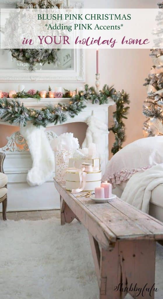 blush pink Christmas