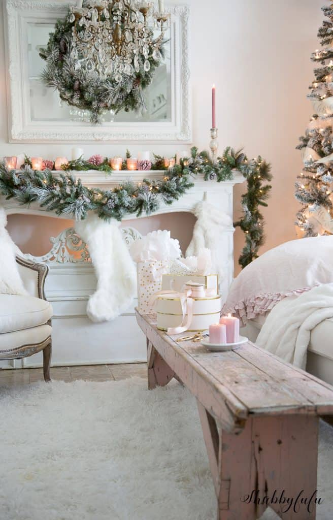 blush pink christmas - Blush Christmas Decorations