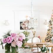 A Blissful Christmas In My White Timeless Kitchen