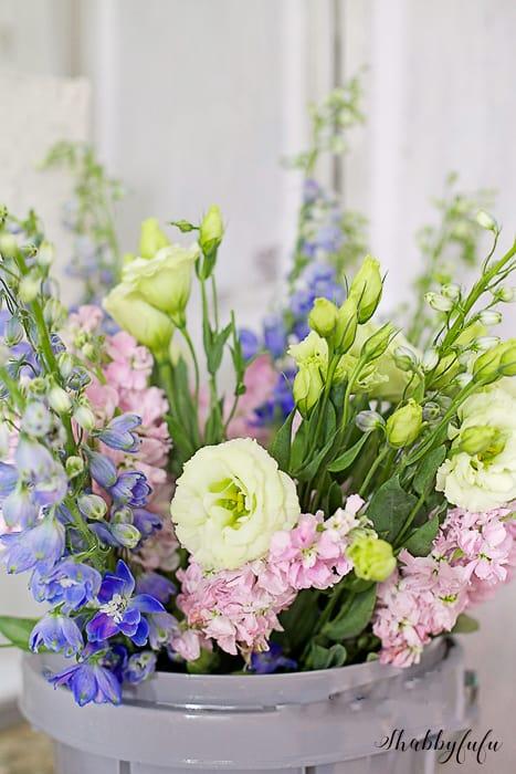 flower bucket diy project