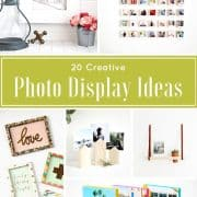Twenty Terrific and Creative Photo Display Ideas