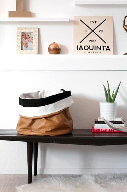 diy-leather-bucket-organizing