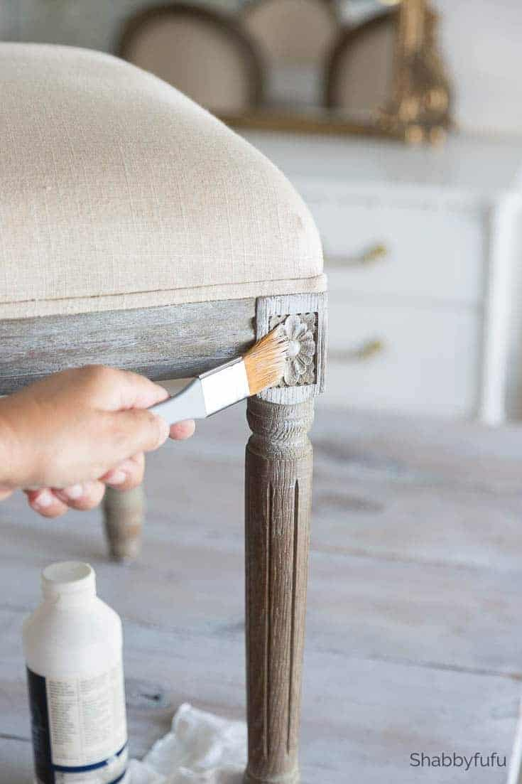 how to white wash furniture