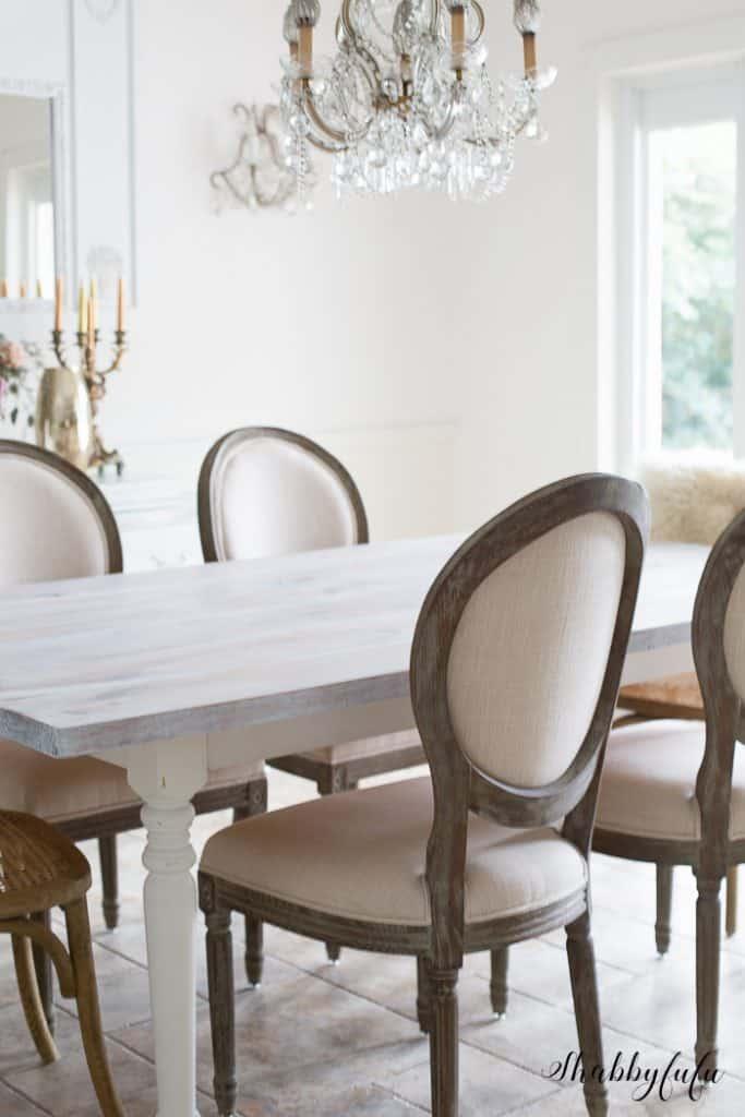 white-washed-farmhouse-table