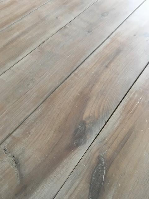 White Wash Wood Table Diy