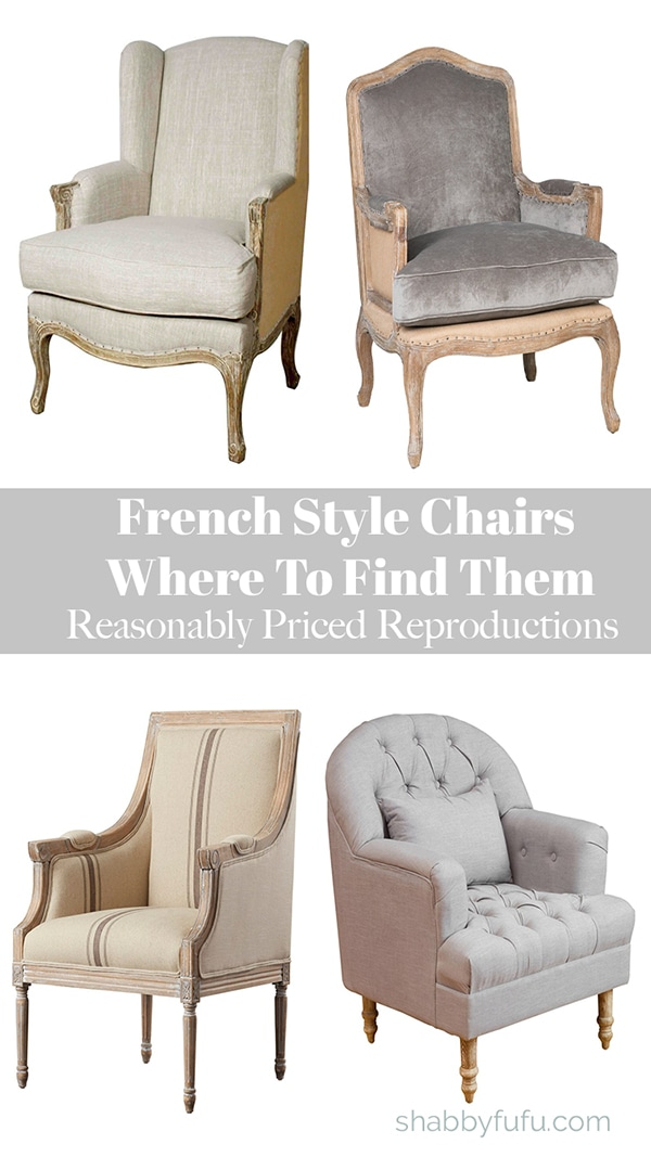 How to decorate with French chairs
