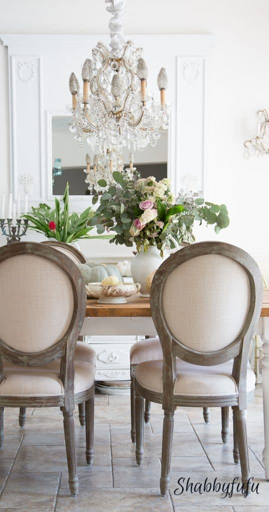 french country modern dining room shabbyfufu