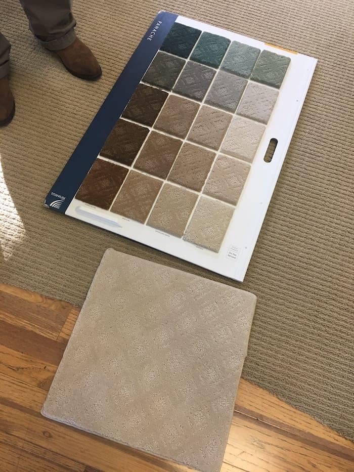 shopping for carpet