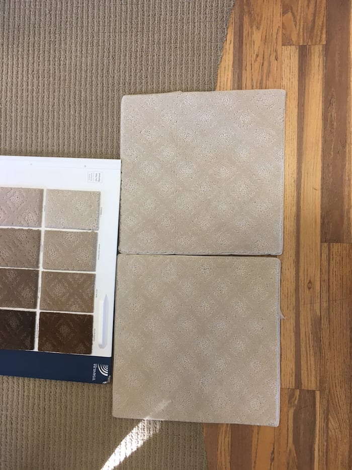 selecting carpeting