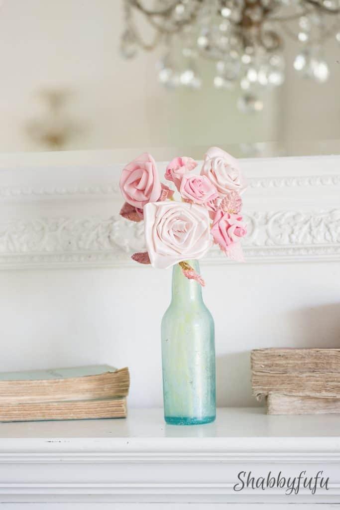 No sew easy diy ribbon roses