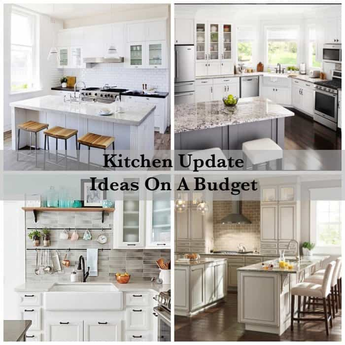 Kitchen update ideas photos kitchen update ideas kitchen for Kitchen upgrades on a budget