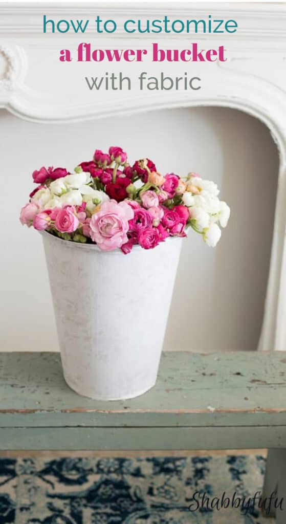 flower bucket diy