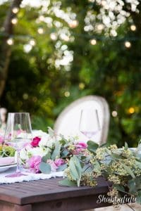 Blissful Weather and Outdoor Dining In The Garden