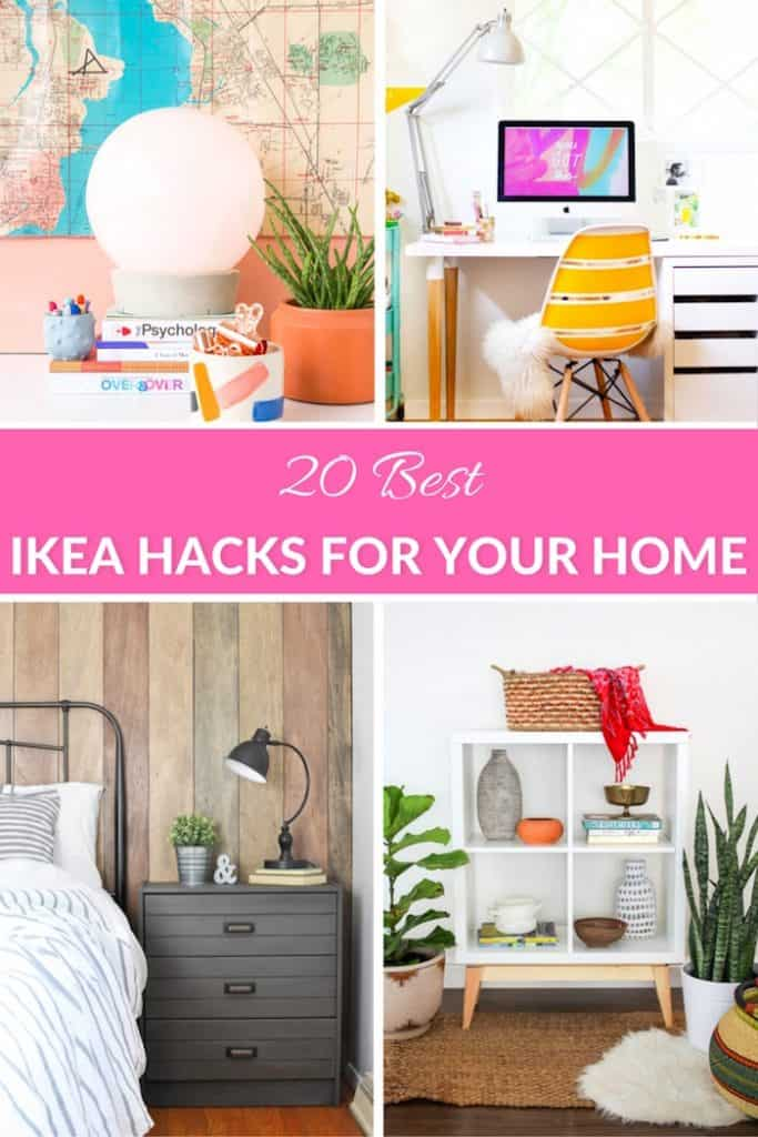 20 Best Ikea Hacks For Your Home
