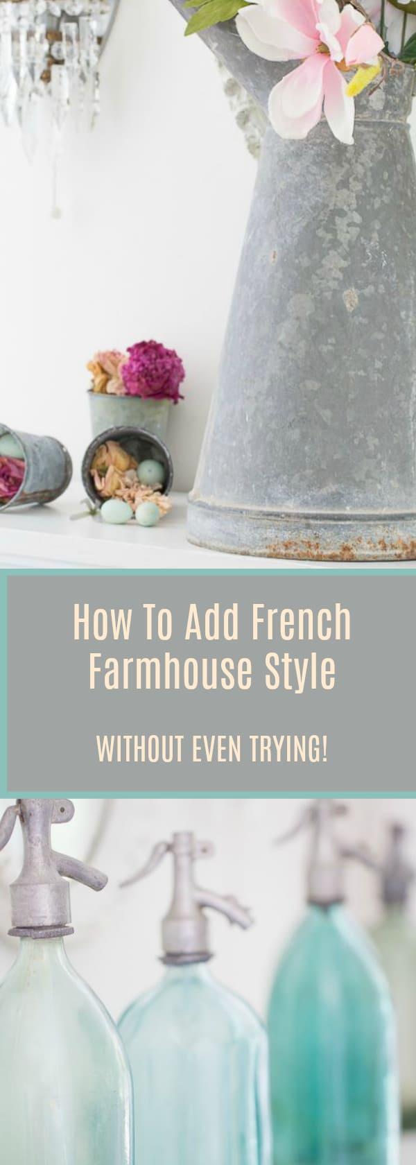 french farmhouse style