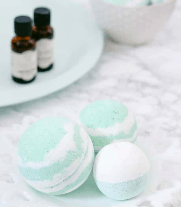 bath bombs self care products pampering