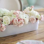 Styling A Floral Centerpiece For Spring Entertaining