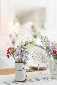 How To Add French Farmhouse To Your Mantel For Spring