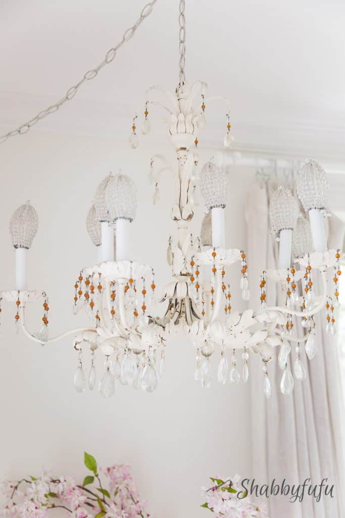 antique-french-tole-chandelier