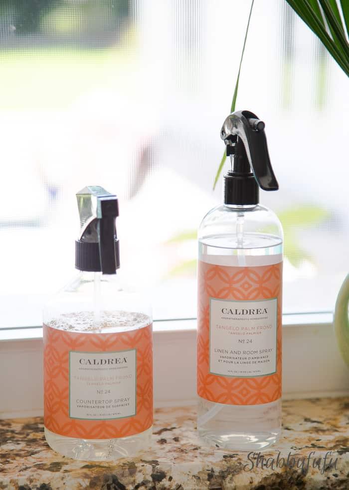 caldrea countertop spray and room spray