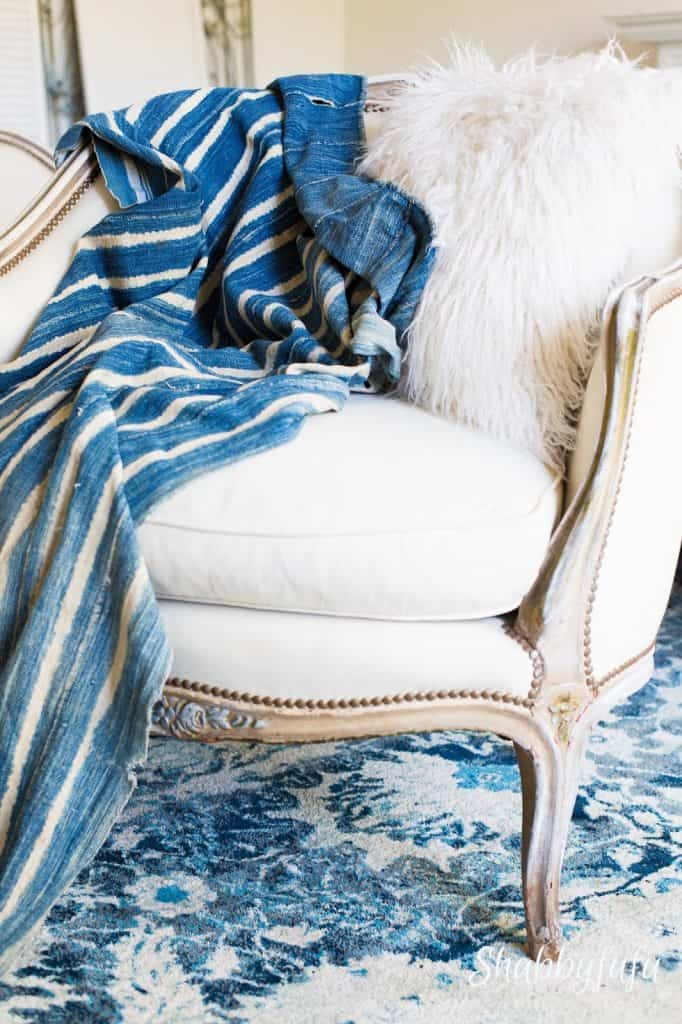 indigo-blue-throw-vintage