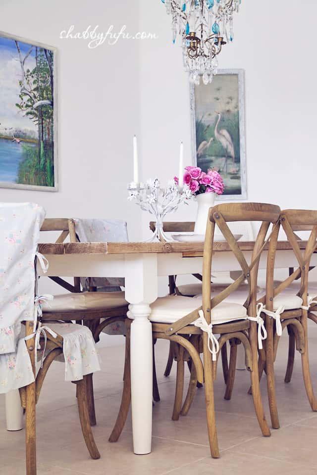 farmhouse table diy - beach house