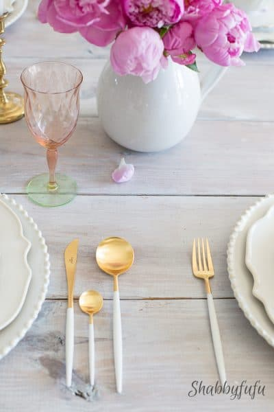 Love Of Simple Table Setting And The Week In Review