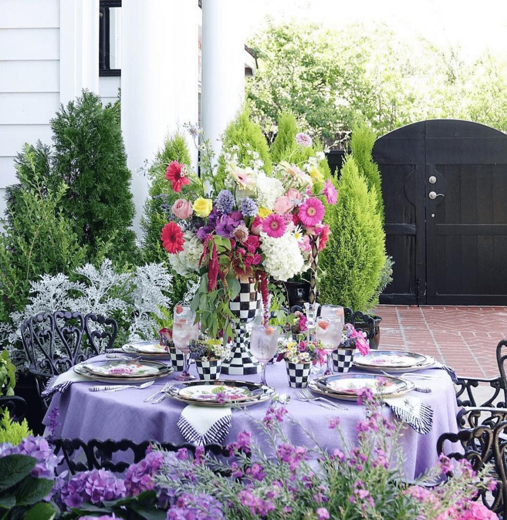florals with McKenzie Childs