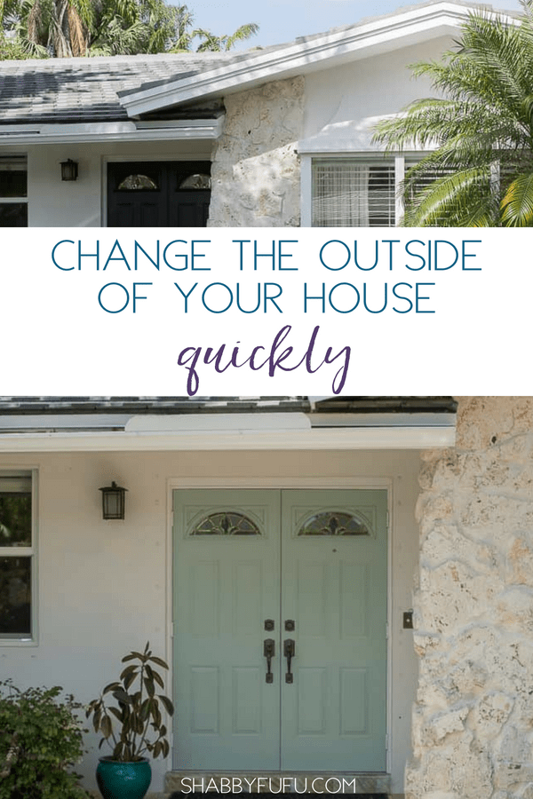 Budget exterior design changes front door - Change the exterior of your house ...