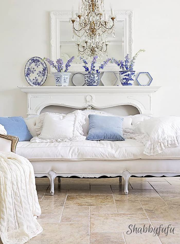 white-french-style-living-room