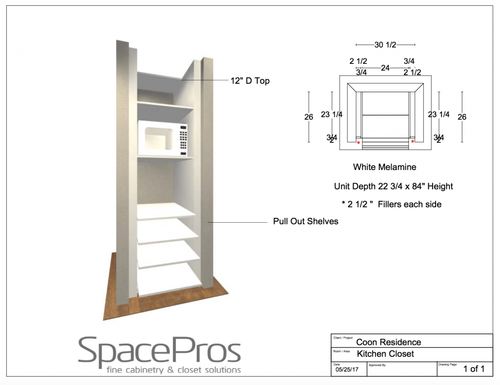 free plans How To Build A Hidden Coffee Station and Microwave