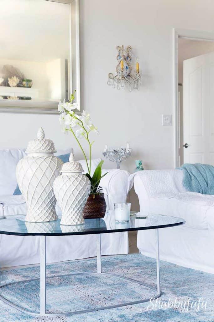 shabbyfufublog beach house living room