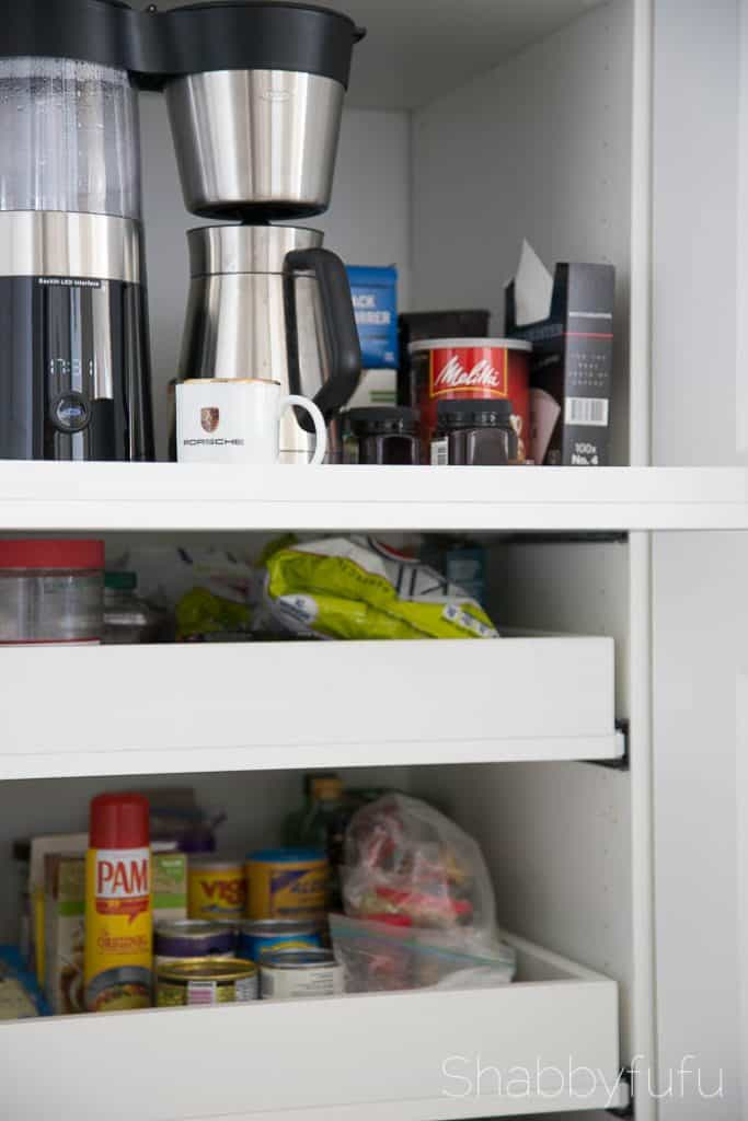 Hidden Coffee Station and Microwave plans
