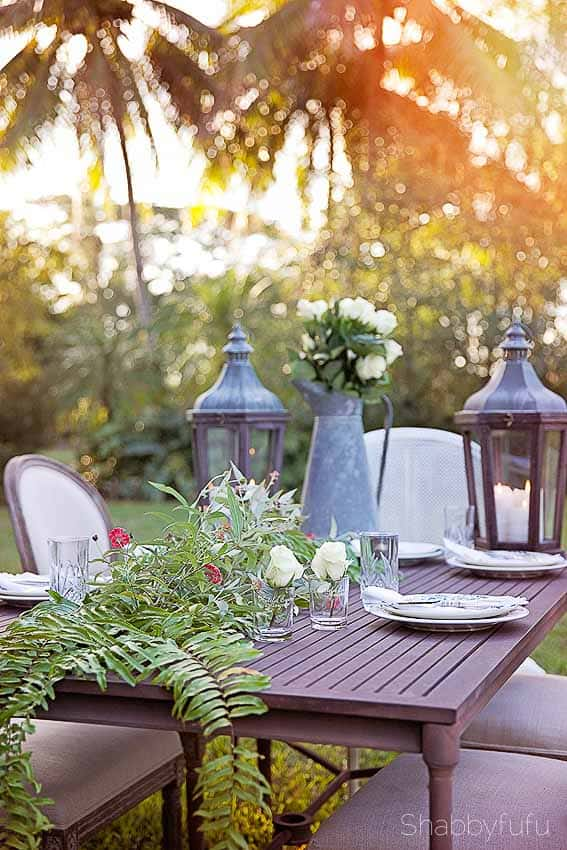 patio dining from restoration hardware