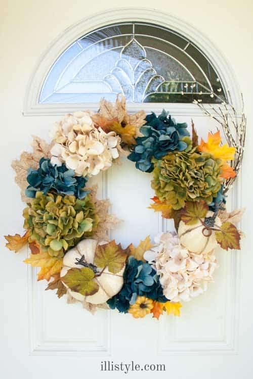 Portfolio of pretty simple wreaths to make for fall shabbyfufu coastal wreath mightylinksfo