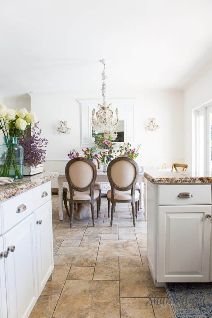 kitchen design tile flooring