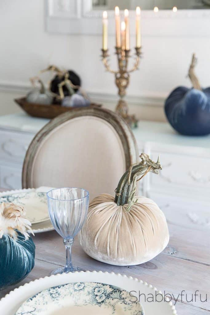 elegant french country style table fall seasonal