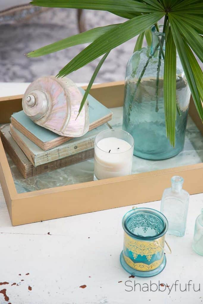 coastal decor for your coffee table