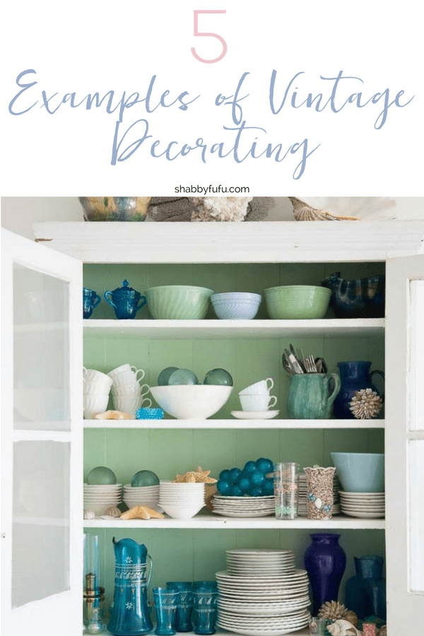 If you love the idea of vintage decorating, you are going to want these home decor tips! Simple, easy and fun ideas on how you can bring that vintage look into your home! #vintagedecorating #vintagedecor #antiques #homedecor #interiordecorating