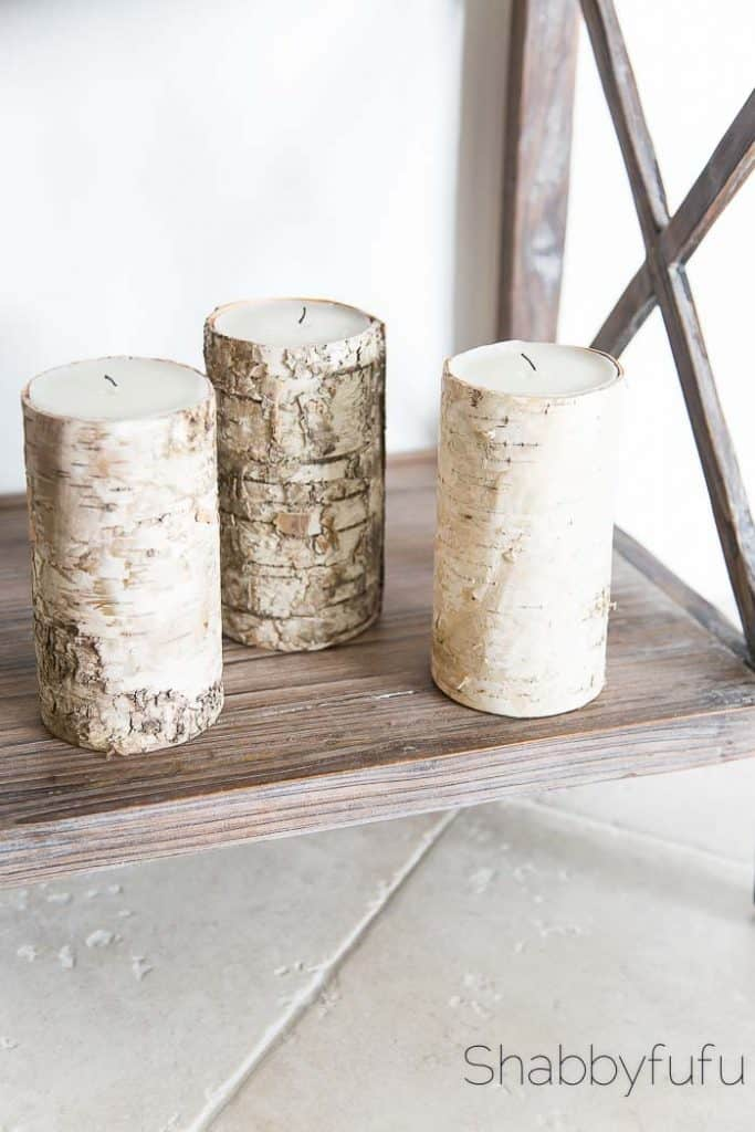 birch-wrapped-candles