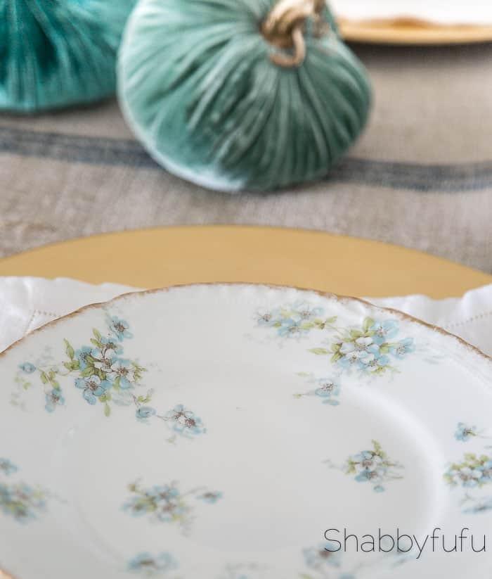 limoges-blue-floral-plates