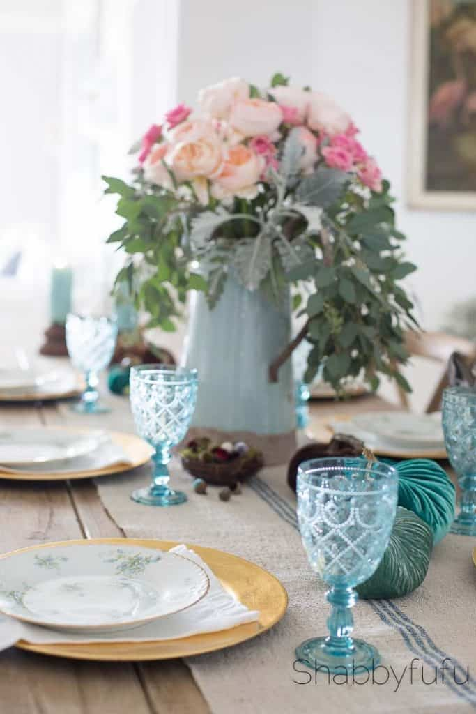 tablescape-beach-coastal-velvet-elegant