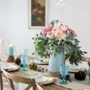 Fall Decorating – Organizing Tea – And Hurricanes