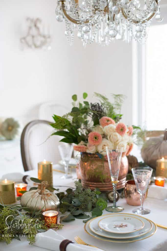 elegant fall table centerpieces