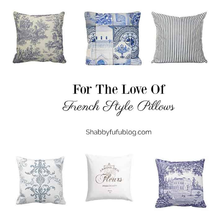 french pillows under ten dollars budget decorating