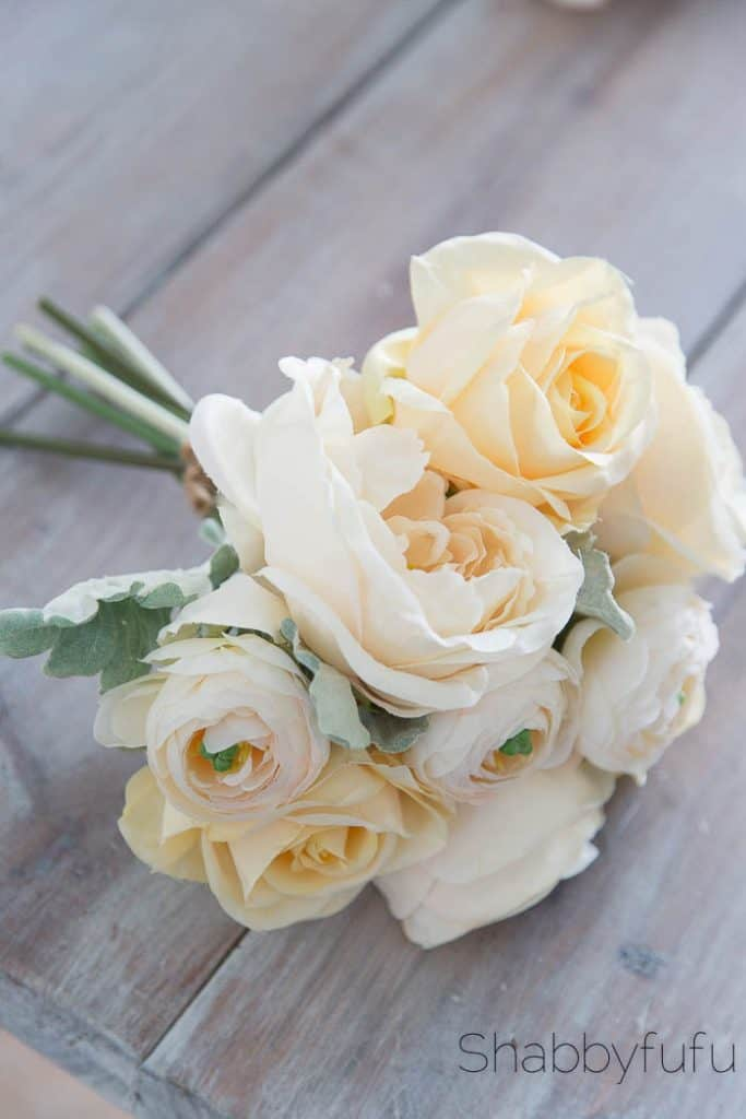gorgeous silk bridal bouquet